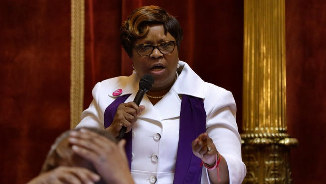 Rep. Anastasia Williams, D-Providence, in a 2019 photo.