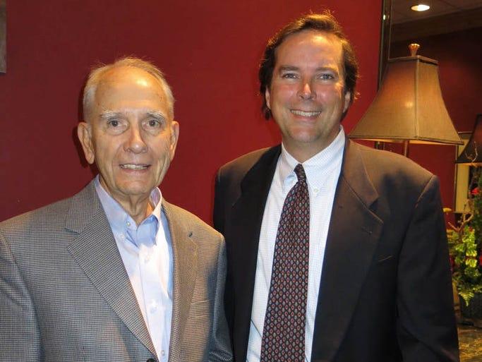 Retirement dinner for U.S. Bankruptcy Judge Steve Callaway was Thursday at Petroleum Club.