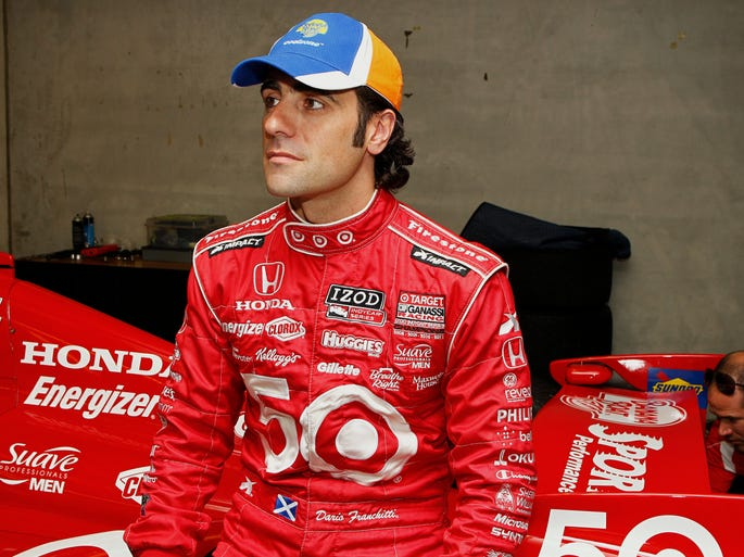 Dario Franchitti, born May 19, 1973 in Scotland, has won four IndyCar Series championships and three Indianapolis 500 titles during his U.S. open-wheel racing career that began in 1997. He announced his retirement on Nov. 14, 2013.