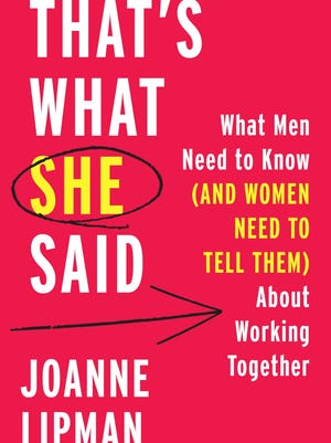'That's What She Said' by Joanne Lipman