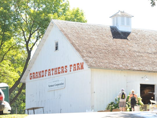 Grandfather's Barn is the only structure remaining