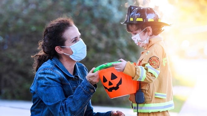 Trick-or-treat is on in several Exeter area communities, including Exeter, Epping, Newfields, Newmarket and Stratham.