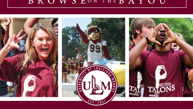 ULM's Browse on the Bayou Nov. 4 for high school juniors, seniors and transfers.