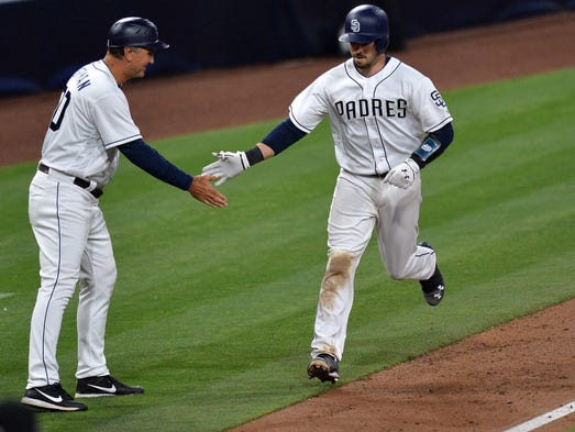 Apr 20, 2017; San Diego, CA, USA; San Diego Padres