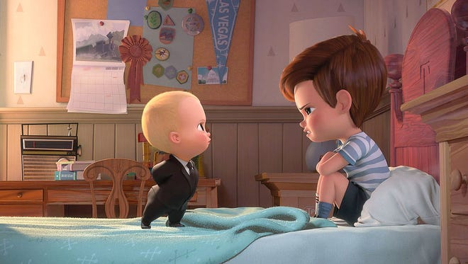"""""""The Boss Baby"""" is among family movies you can see for about $1 this summer."""