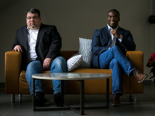 Partner and COO David Hunt (left) and Managing Partner Anthony Wright started a new healthcare platform, Danio Diary, which aims to help loved ones and doctors stay connected and updated on the medical status of someone receiving care.