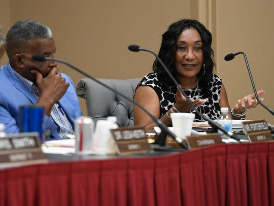 Incoming Montgomery School Superintendent Ann Roy Moore