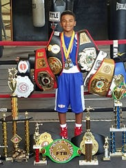 Emanuel Moreno of Fallstown Boxing Team was a state