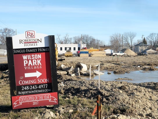 Robertson Brothers Homes is developingWilson Park