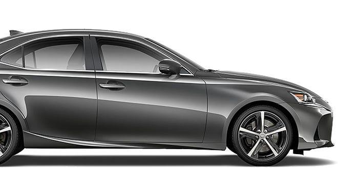 The Lexus IS 350.