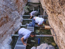 Devils Hole divers fight to save rare desert fish in Death Valley National Park