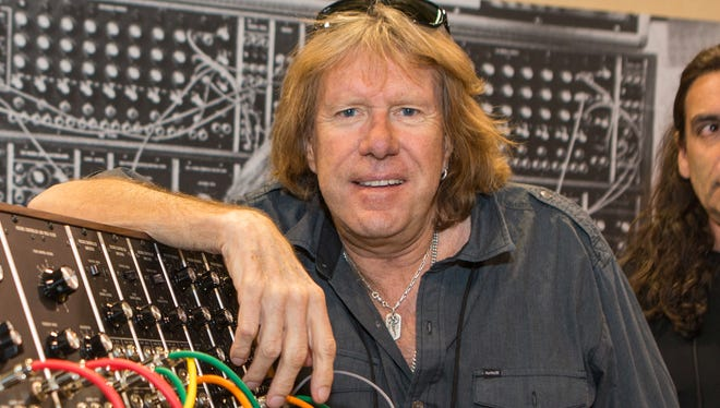 Keith Emerson in Anaheim, Calif., in January 2015.