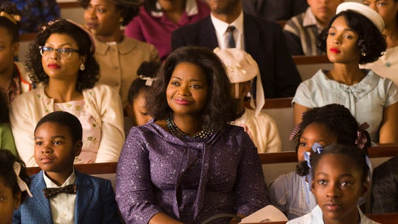 "Taraji P. Henson, Octavia Spencer, and Janelle Monae star in ""Hidden Figures."""