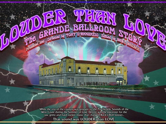 """Louder Than Love"" promotional poster"