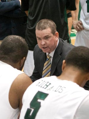 The 2015-16 season will be Tommy Dempsey's fourth year in charge of the Binghamton University men's basketball program.