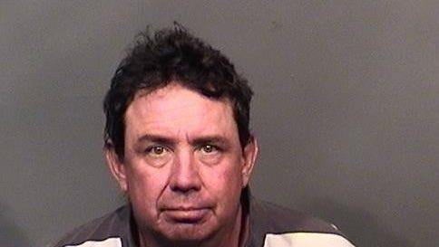 Mark Sweeney, 50, was arrested for attempted armed robbery Tuesday.
