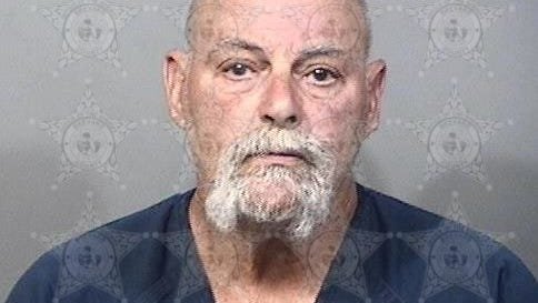 Kerry Kelly, 62, is charged with aggravated assault with a deadly weapon, armed trespassing and open carrying.