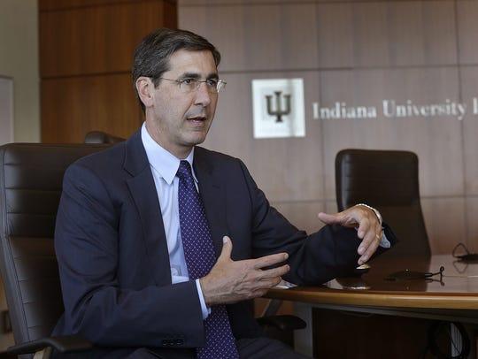 Incoming IU Health CEO Dennis Murphy will lead development