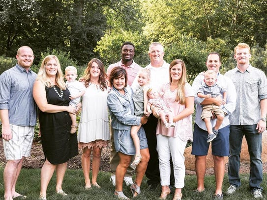 Corey Davis and the Graham family