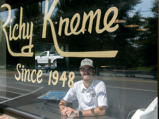Cole Davis, CEO of Richy Kreme Do-Nuts, on Thursday,