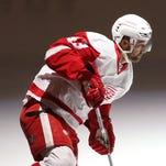 Detroit Red Wings' Darren Helm.