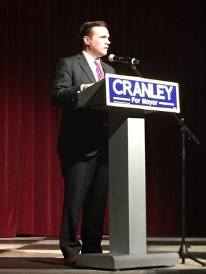 Mayor John Cranley officially kicked off his re-election campaign Feb. 21.