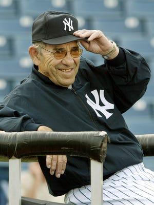 Yogi Berra won 10 championship rings with the Yankees.