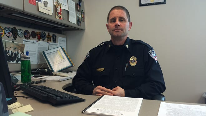 Capt. Dan Brinkman with the Sturgeon Bay Police Department has been training a civilian response to active shooter events in the county for a year.