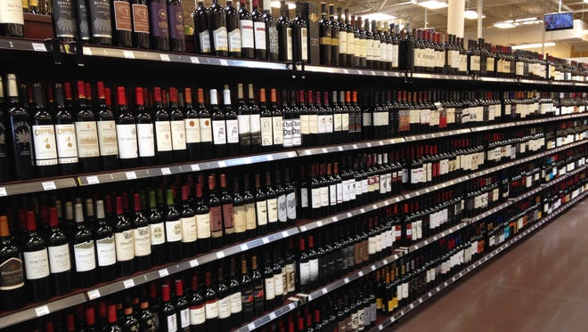 Kroger has allocated 160 feet of space for wine at its 35 W. University Parkway store. The supermarket giant begins selling wine at each of its three locations in Jackson on July 1.