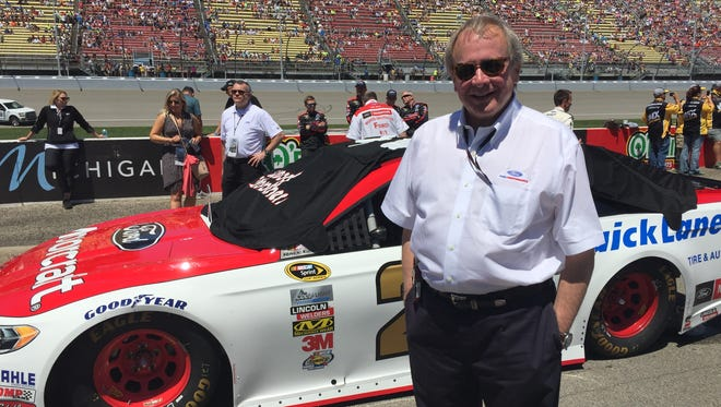 Edsel Ford II at Michigan International Speedway in Brooklyn in June 2016.