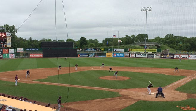 Championships in Divisions 1, 2, 3 and 4 are being played Thursday as part of the WIAA state baseball tournament at Neuroscience Group Field at Fox Cities Stadium in Grand Chute.