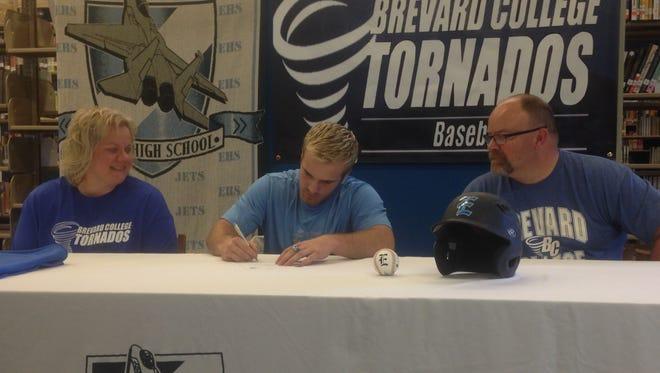 Enka senior Tanner Revis has signed to play baseball for Brevard College.
