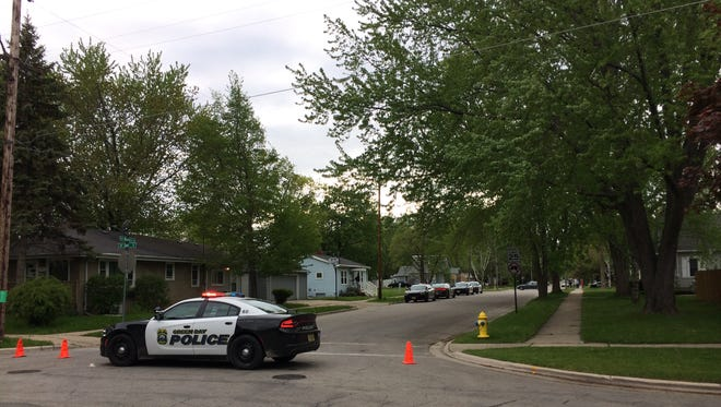 A portion of the 1000 block of Western Avenue in Green Bay was closed off Friday afternoon due to possible shots fired.