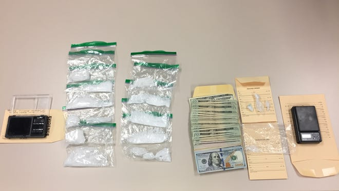 Drug paraphernalia and cash were collected April 5 by detectives with the Ventura County Sheriff's West County Narcotics Street team after they executed a search warrant in Oxnard.