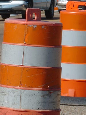 Paving on U.S. 80 under I-20 in Brandon will shift traffic patterns for a couple of days this week.