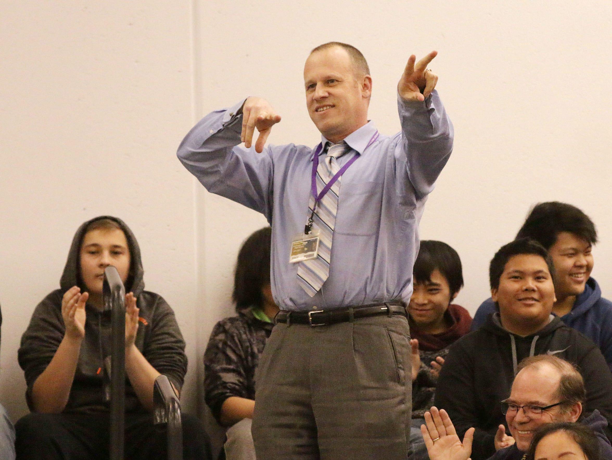 Sheboygan North English language learner teacher Matt