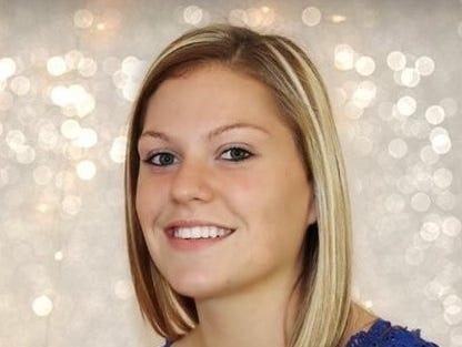 Andrews thrower Tiffany Holloway