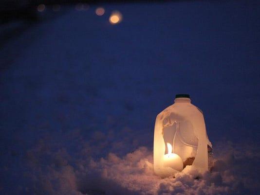 Yorktown Luminary light