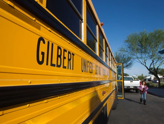 Gilbert Unified School District bus