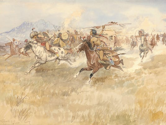 The Battle Between the Blackfeet and Piegans 1.jpg