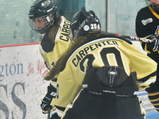 Competing for the Honeybaked U14 AAA girls team based