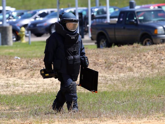 Bomb squad opened 'suspicious' package sent to Gulfport