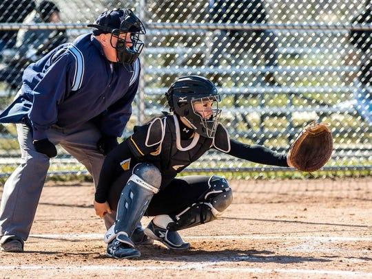 Waverly senior catcher/shortstop Maddie Stump has hit
