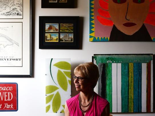 Liz Swaine, executive director of Downtown Development