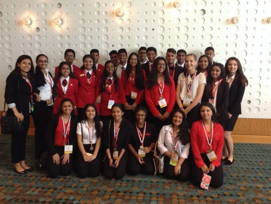 Young leaders represent New Jersey at the FCCLA National Leadership conference in Nashville, Tennessee
