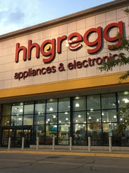 Hhgregg is on the Fox River Mall property at 690 N.