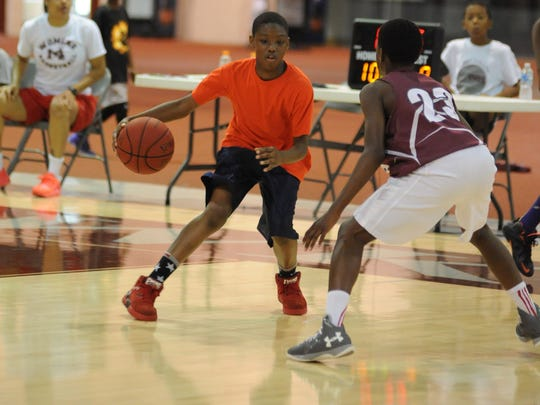 University of Maryland Eastern Shore summer basketball camp July 2, 2017.