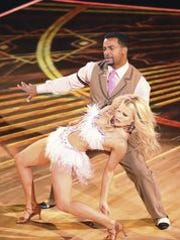 Alfonso and Witney recreated their premiere night jive.