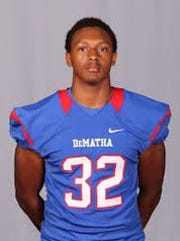 Jaire George earned a football scholarship to Vanderbilt.