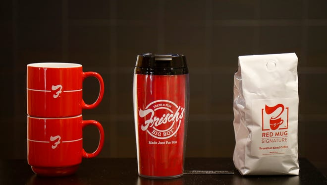 Frisch's merchandise is available at most restaurants. The Carew Tower in downtown Cincinnati is currently closed.